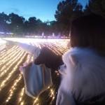 長島のアウトレット&木曽三川公園のイルミネーション