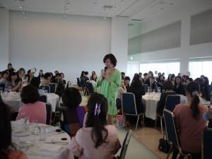若林三弥子先生講演会華やかに開催‼