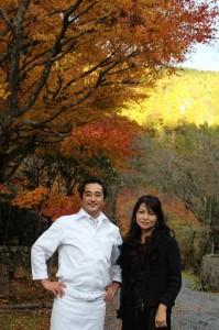 「美プレミアム」イベントで美山荘へ