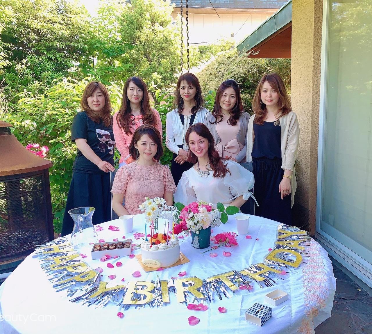 みきちゃん家の薔薇園にて
