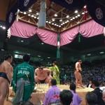 大相撲名古屋場所11日目〜