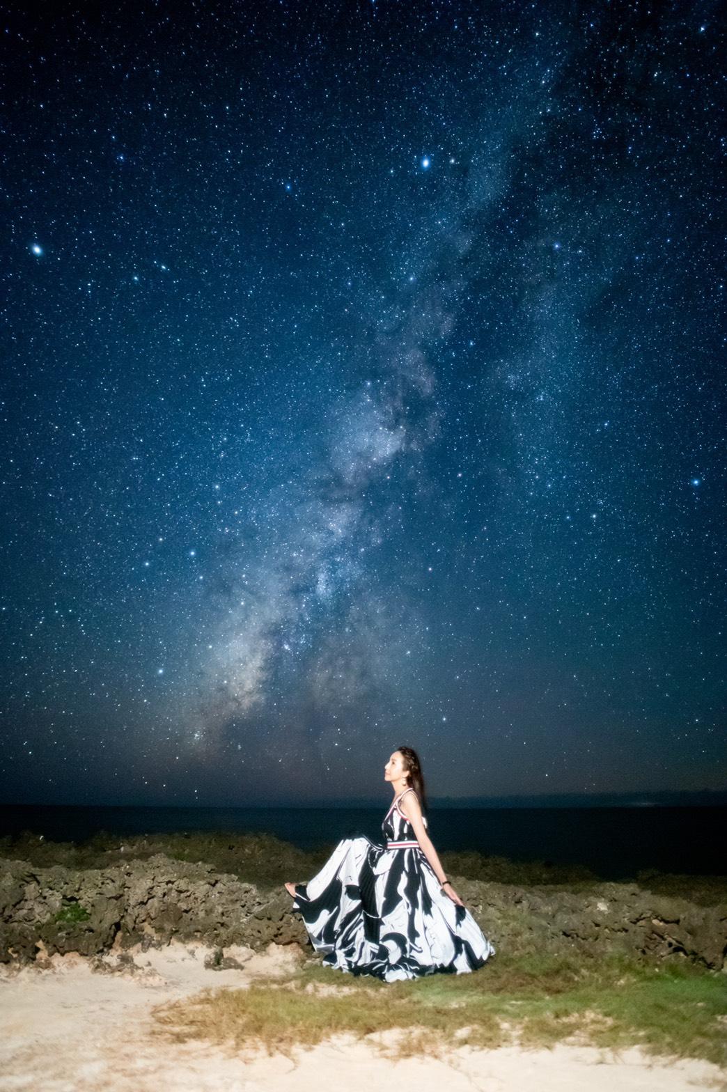 """宮古島〜""""満天の星空""""  絶景パワースポットでーす"""
