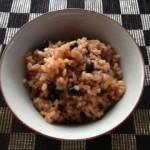 パワーあふれる玄米ご飯