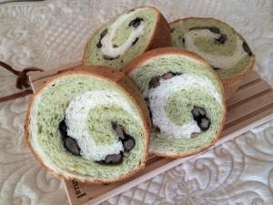 2色渦巻きパン
