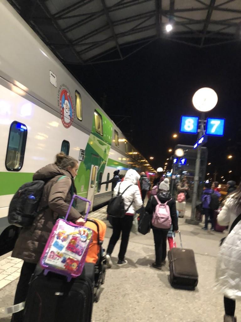 フィンランド旅行 PART8【寝台列車編】