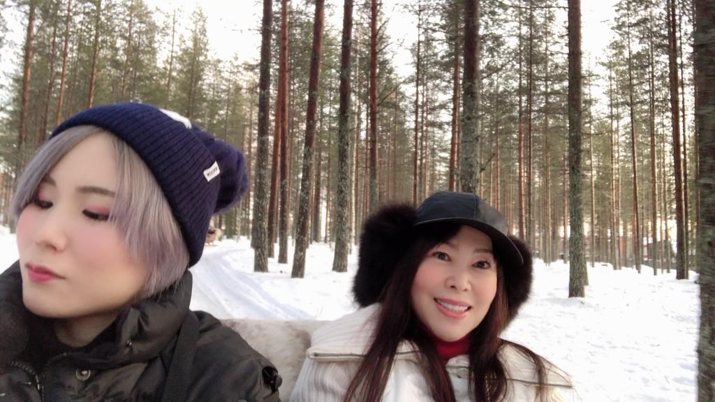 フィンランド旅行 PART15【トナカイそり編】