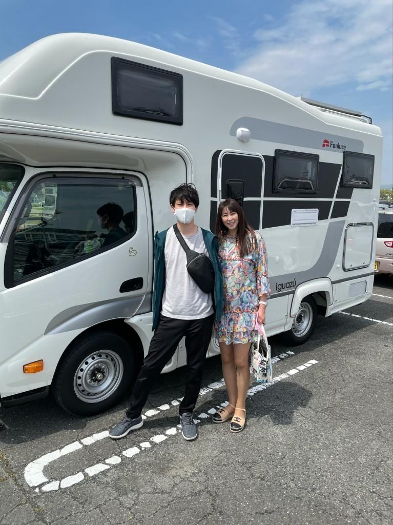 キャンピングカーでお出かけ(^O^)