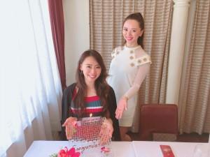 miss grand japan愛知グランプリのお祝い