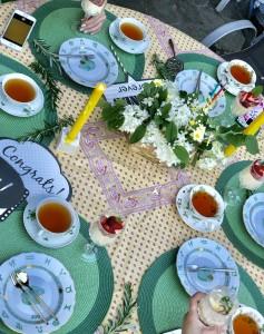 お料理教室&ガーデンパーティー