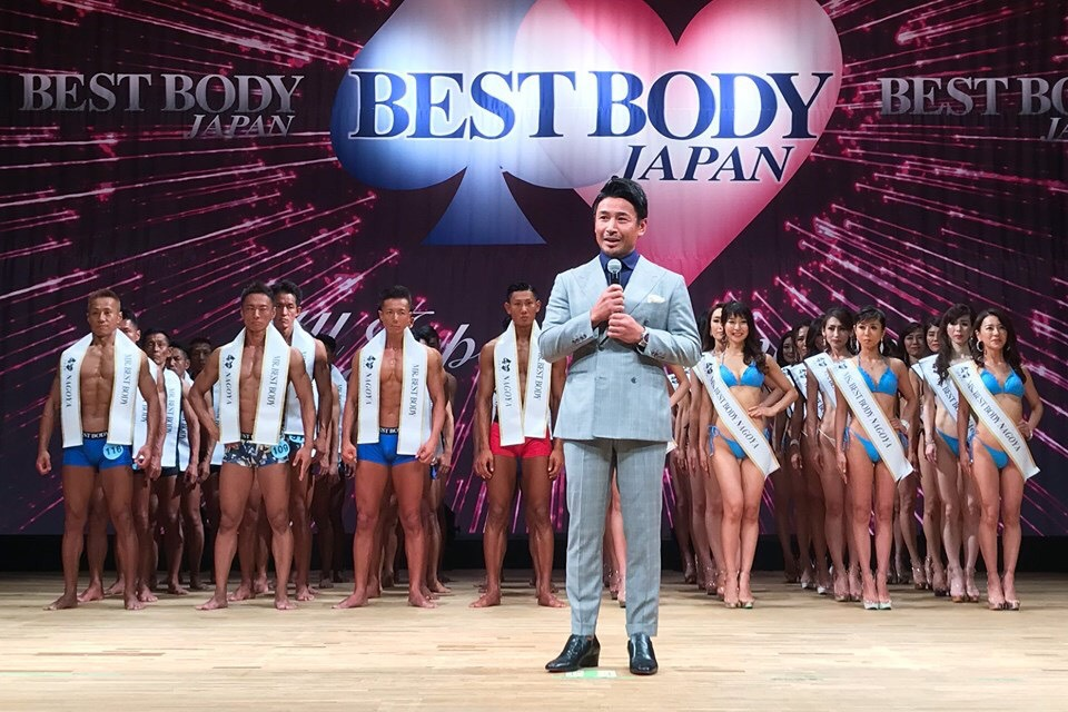 ベストボディジャパン名古屋大会の応援