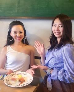まみちゃんとお誕生日お祝いランチ