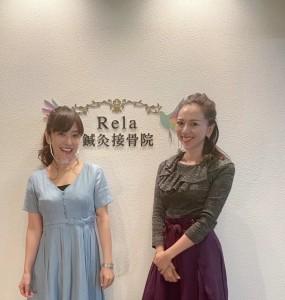山田まきこちゃんの笑顔トレーニングとランチ