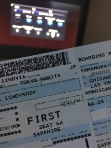 初!American air line☆