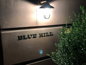 BLUE HILL・Manhattan店