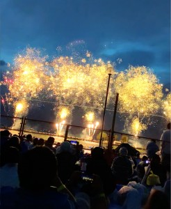 諏訪湖花火を体感@北参道倶楽部