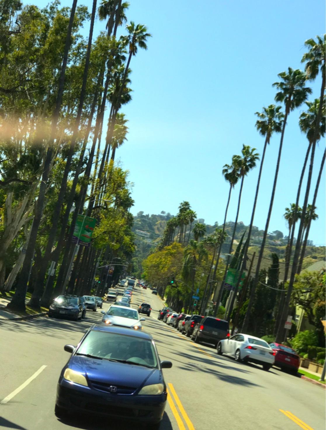 眩しいロサンゼルス