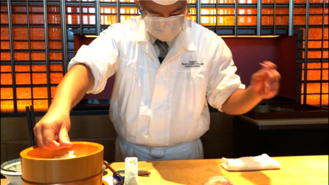 東京ベイコートでお鮨ランチ