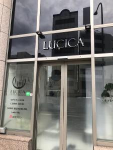 lucicaにて まつ毛パーマ