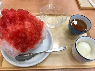 ☆いちごのかき氷☆