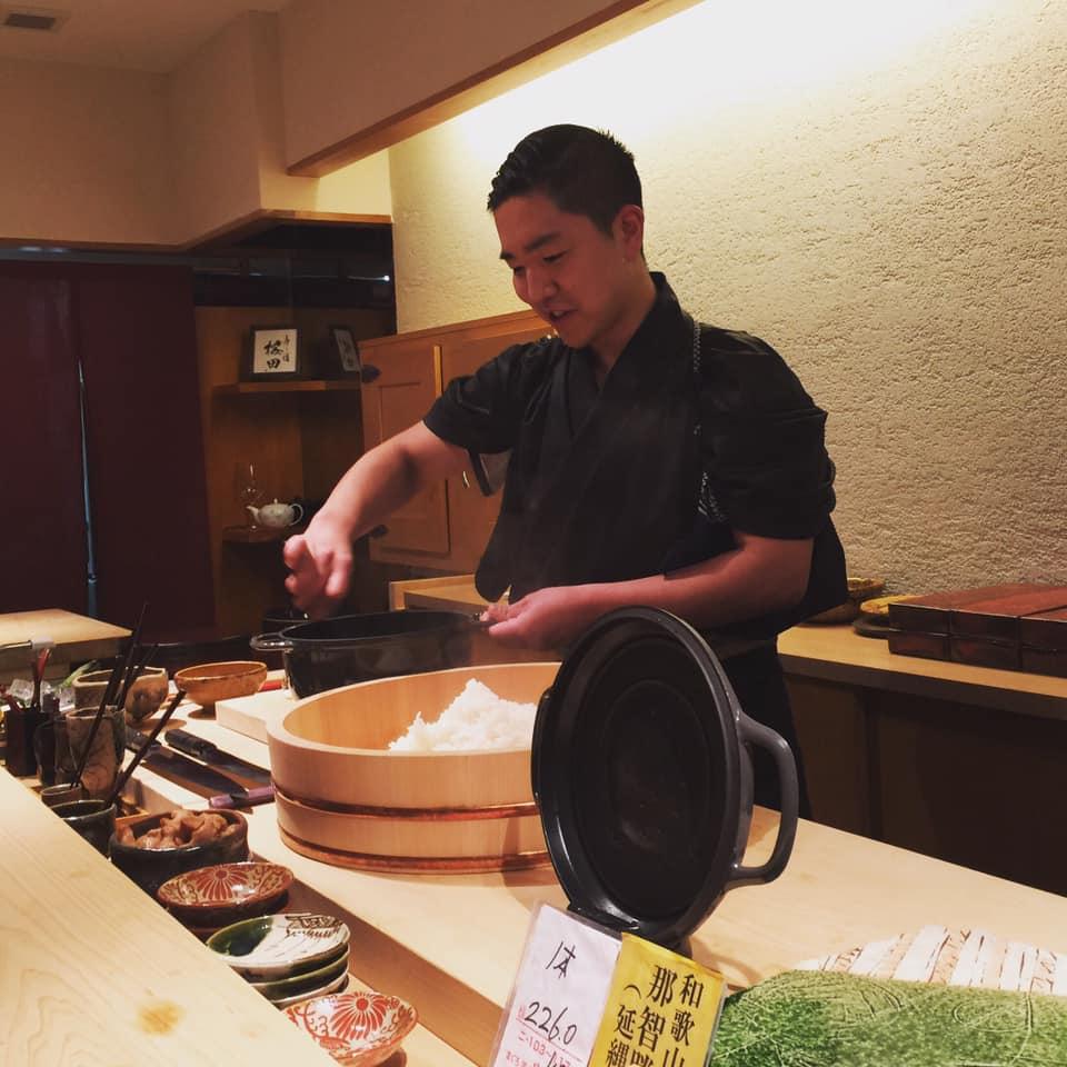 鮨の名店の跡地に若き28歳の寿司職人の新店オープン「寿し道 桜田」