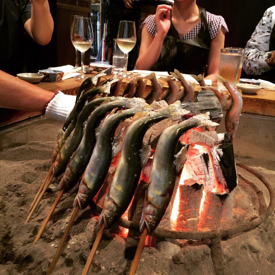 初夏の柳家は、山菜あり鮎あり鰻アリ♡やっぱり山の夏は美味しい