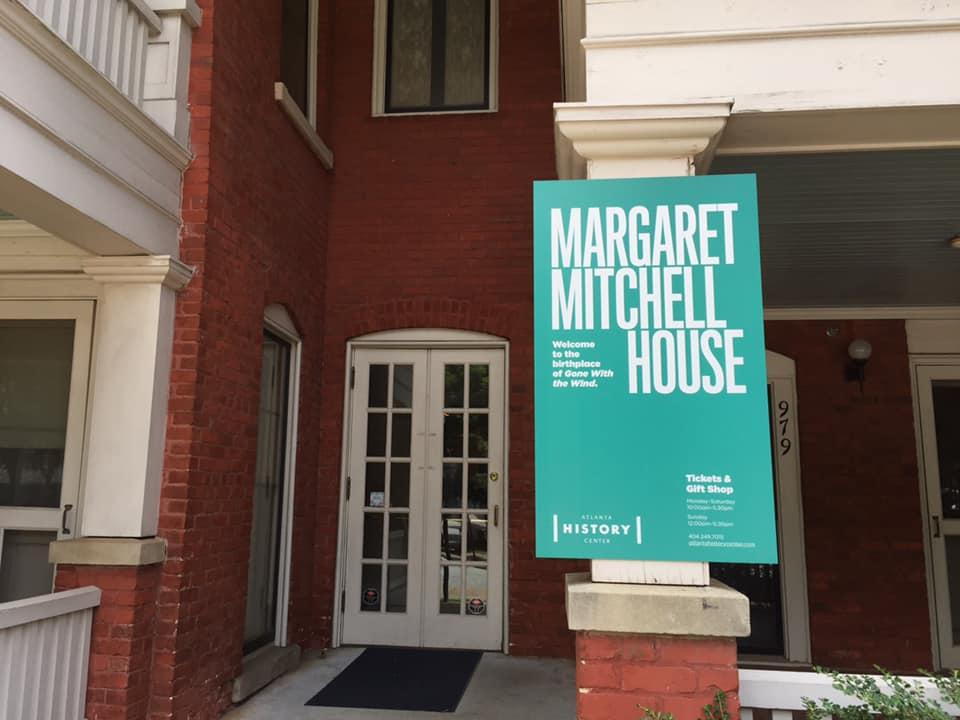 ひたすらスカーレットオハラの世界…マーガレットミッチェルハウスへ!