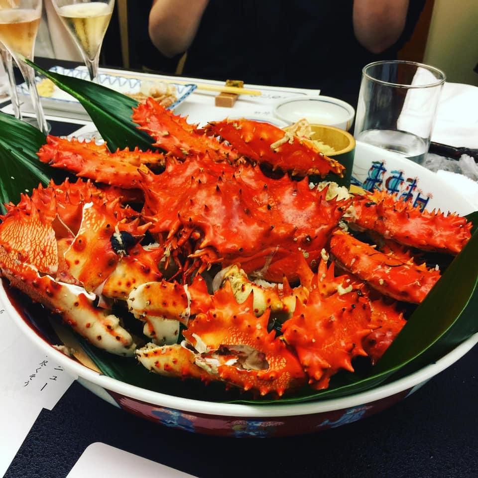 夏の蟹の王様と言えばやっぱり「花咲蟹」よね!蟹しゃん会@かに家 名古屋