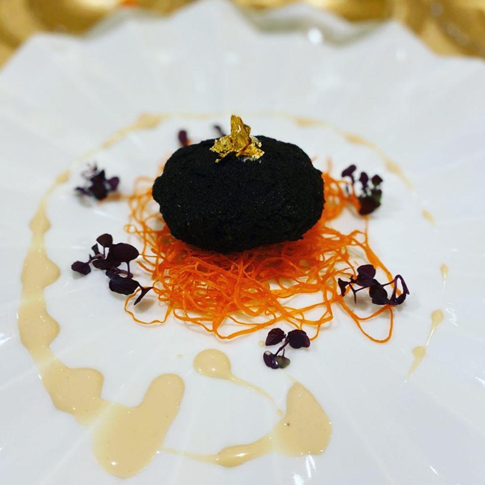 真っ黒な牛タンカツレツ⁉コレは美味しい♡尾頭橋「トゥラジョア」