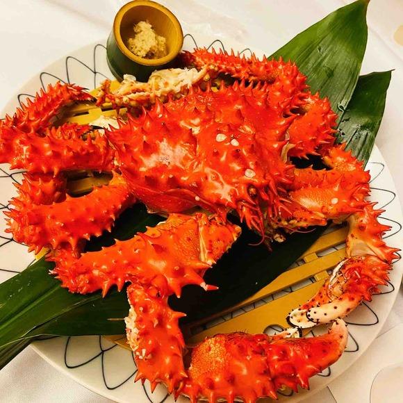 名古屋にいながら北海道旅行!巨大な花咲蟹をかに家でたっぷり☆