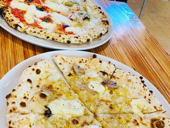 富良野チーズ工房本格ピザ窯のフレッシュチーズピザで日本チーズの良さ実感