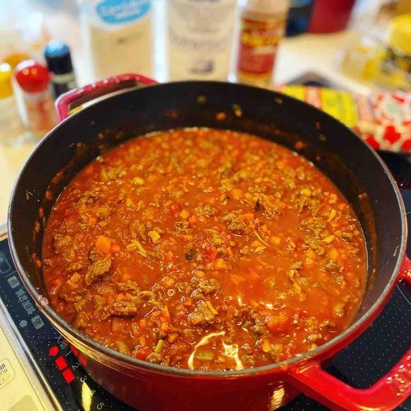 我が家のミートソースレシピ!鹿肉とメイプルシロップで山の幸たっぷり
