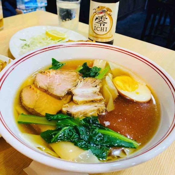 夏限定!餃子屋麺壱番館の冷やしワンタン!ん~、最高♪