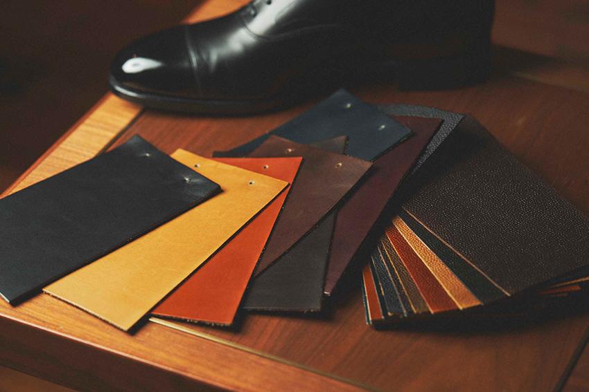 紳士靴のパターンオーダー会