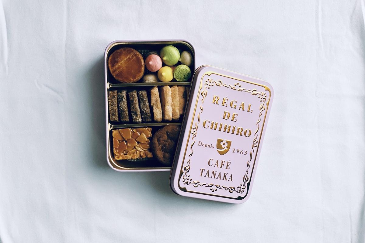 カフェ タナカのクッキー缶をいただきました