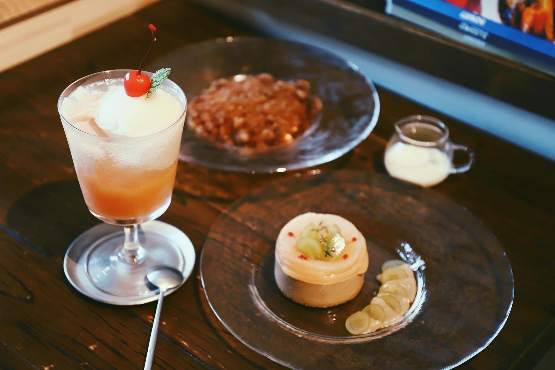 【鶴舞】「cafe and N(カフェアンドエヌ)」さんで季節のスイーツをいただきました