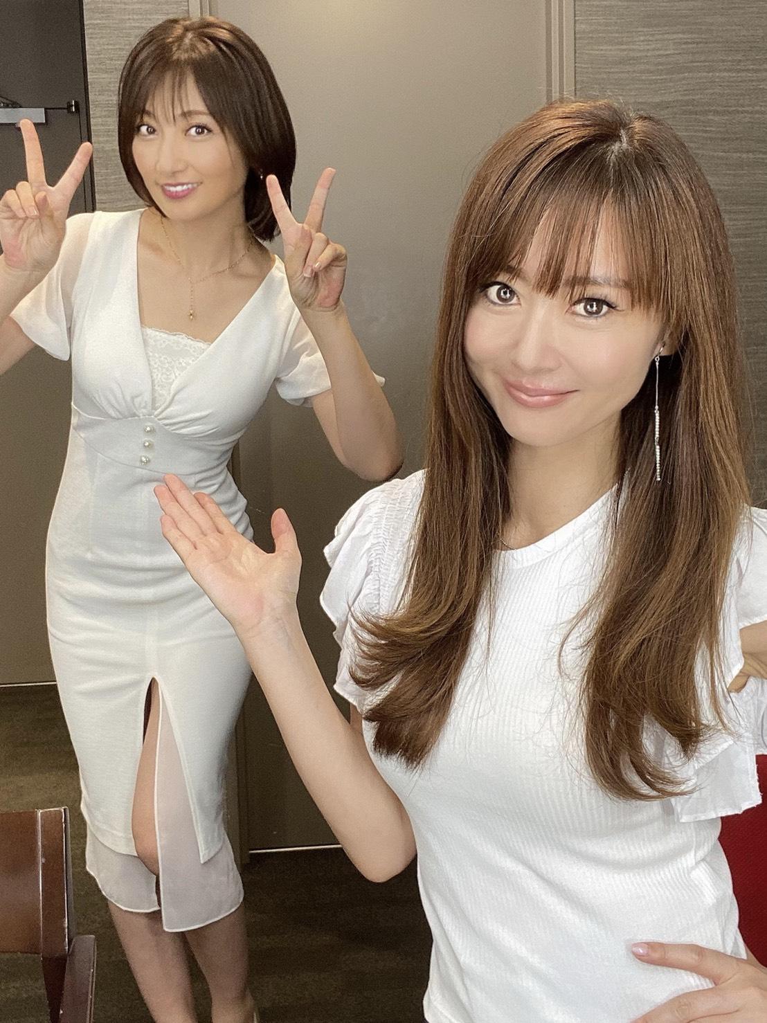 熊田曜子ちゃんとのメイク動画