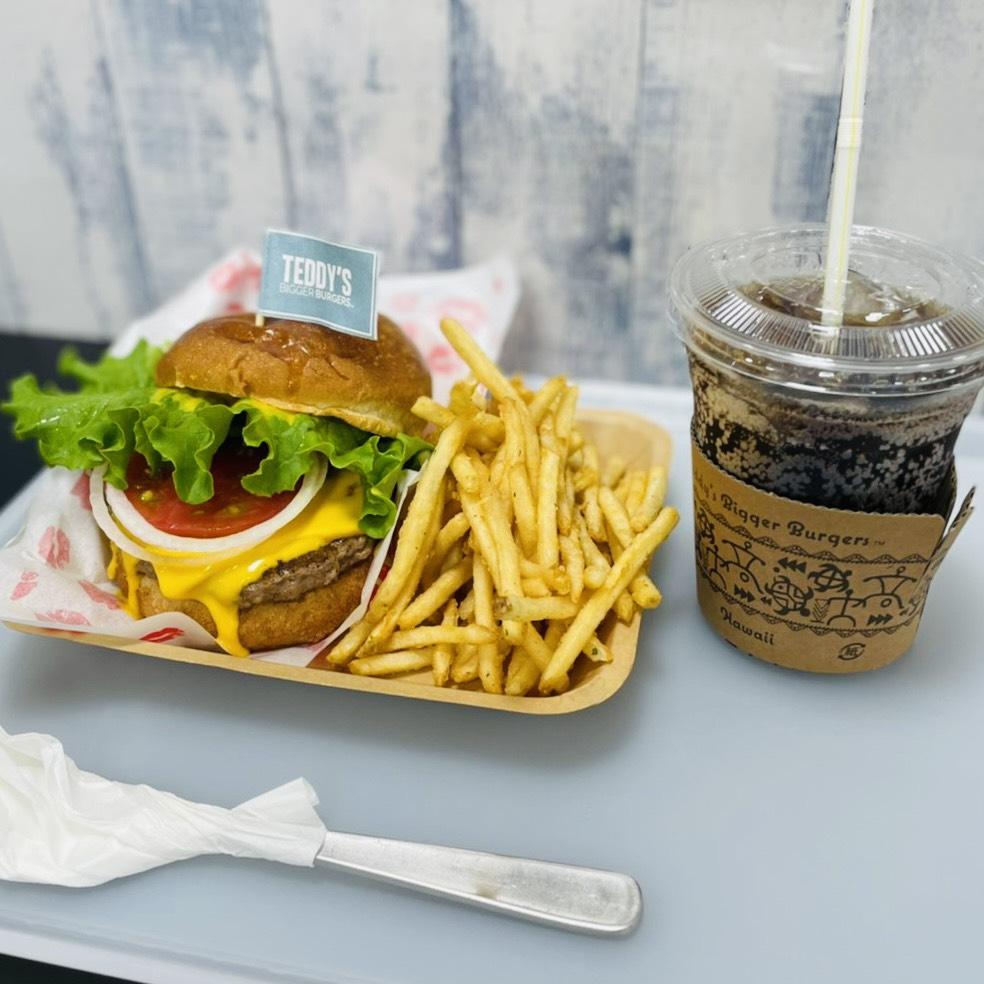 ハワイフェアでハンバーガー♪