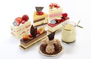 とっておきのティータイムにはホテルメイドのケーキ