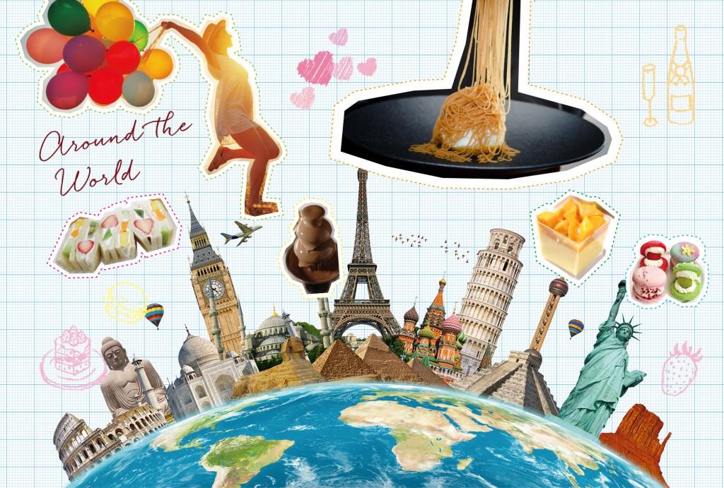\スイーツで世界を巡る ONE DAY TRIP/