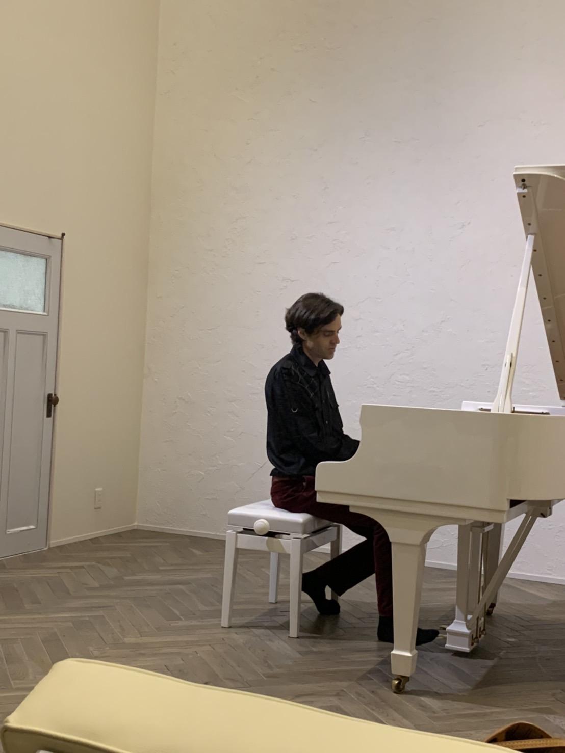 友人のピアノサロン♪