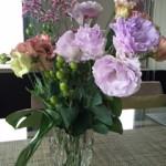花で梅雨の気分転換