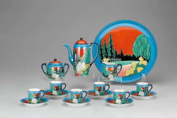 横山美術館で「時を超え心揺さぶるカップ&ソーサー展」開催