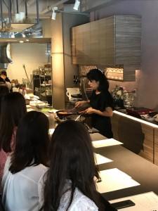 「IZUMI DINING」のお料理教室リポート