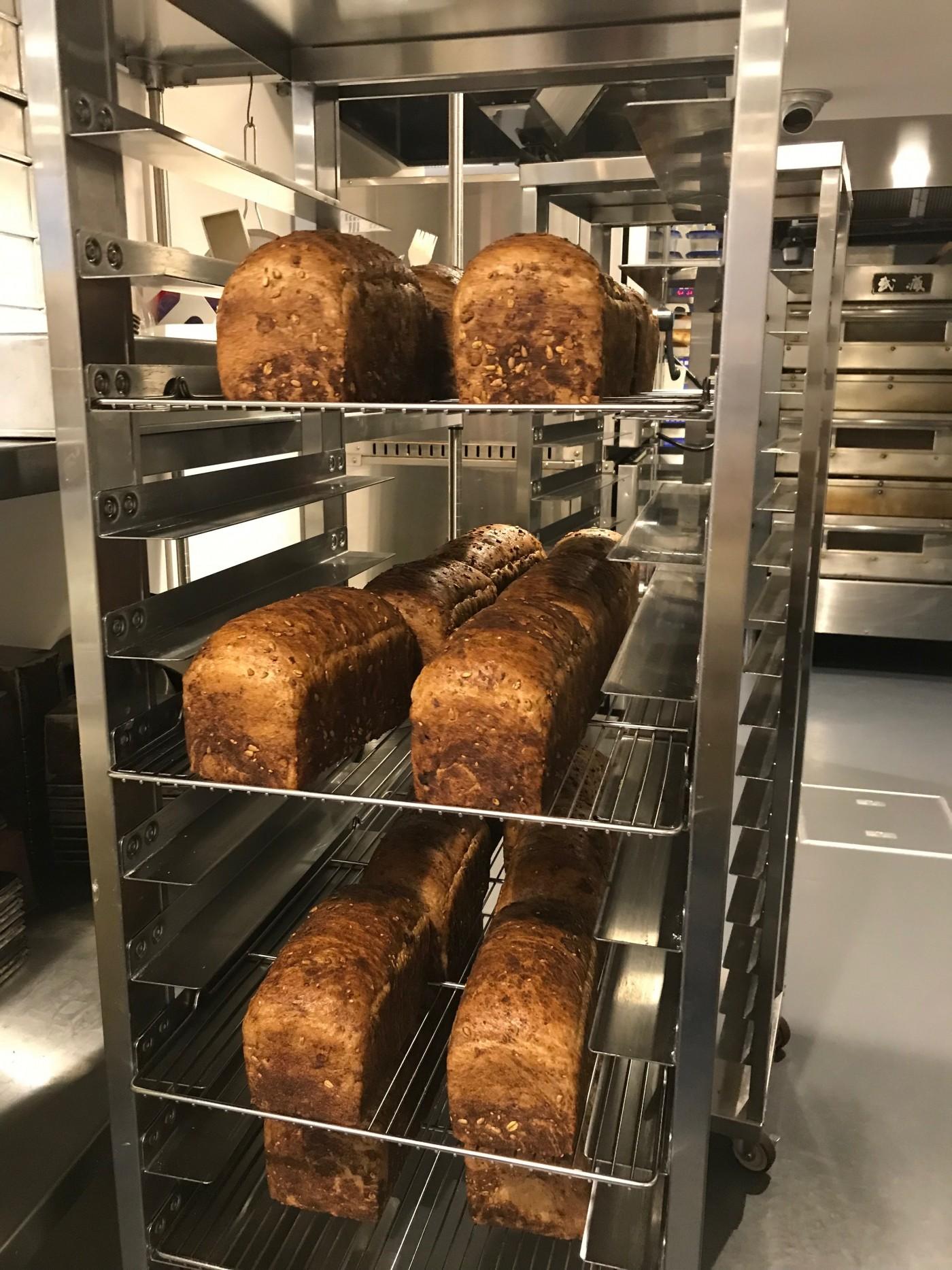 ライ麦パン制作