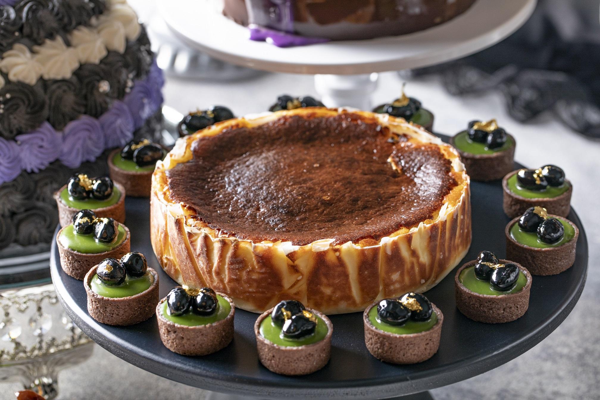 バスク風黒いチーズケーキ