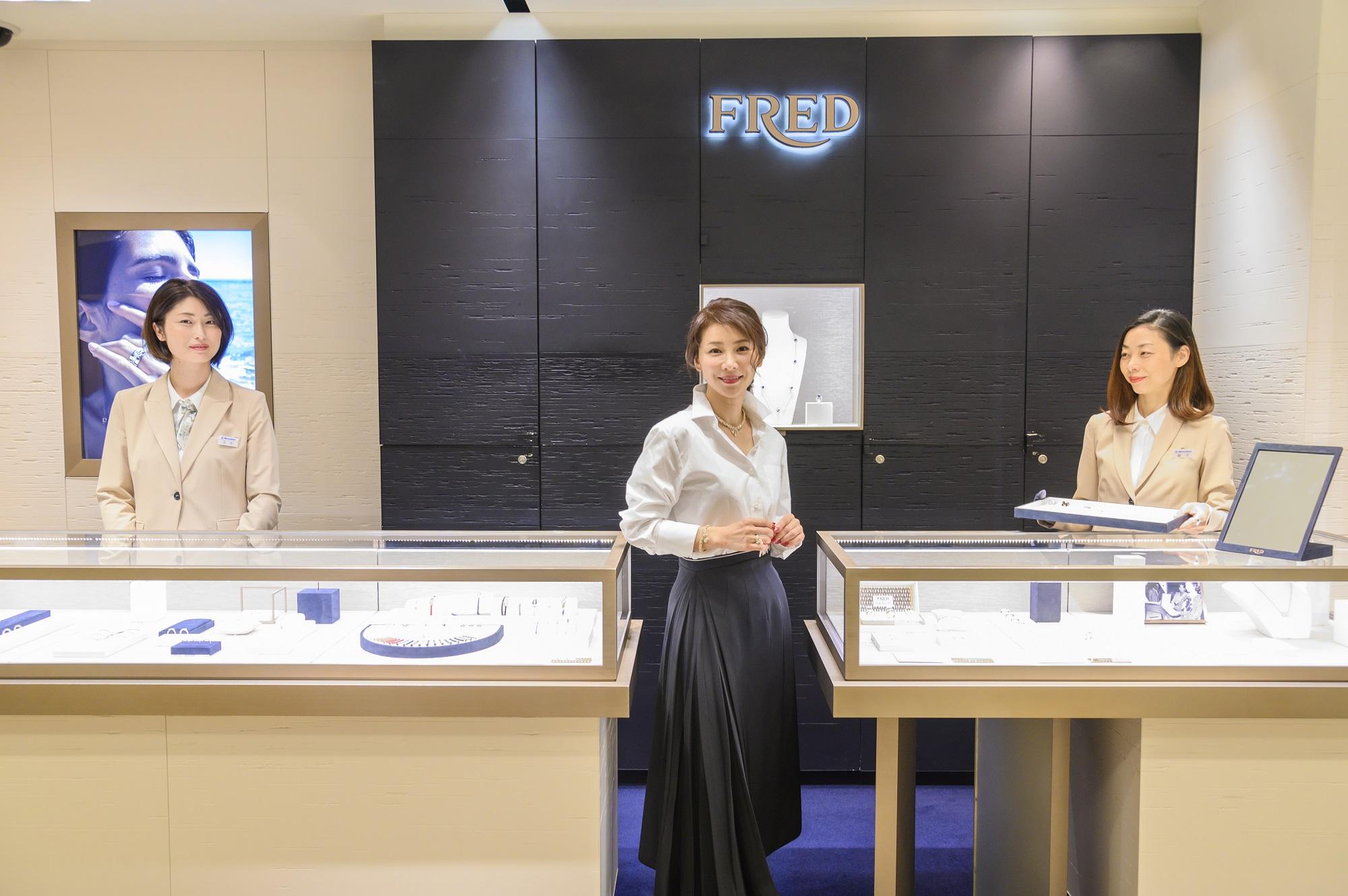 グレース・ケリーが愛した「フレッド」のコレクションが、松坂屋名古屋店「FNO」で初お披露目。【PR】
