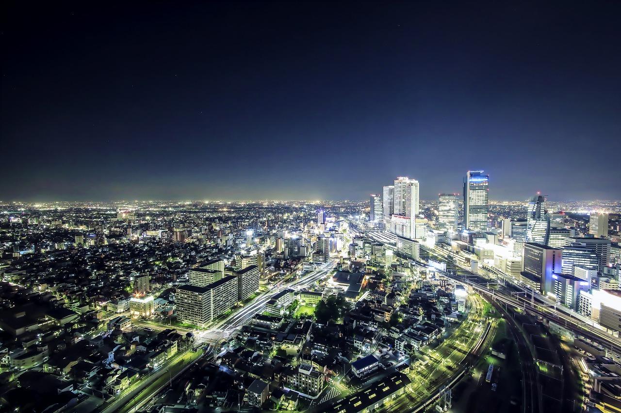 名古屋駅方面眺望