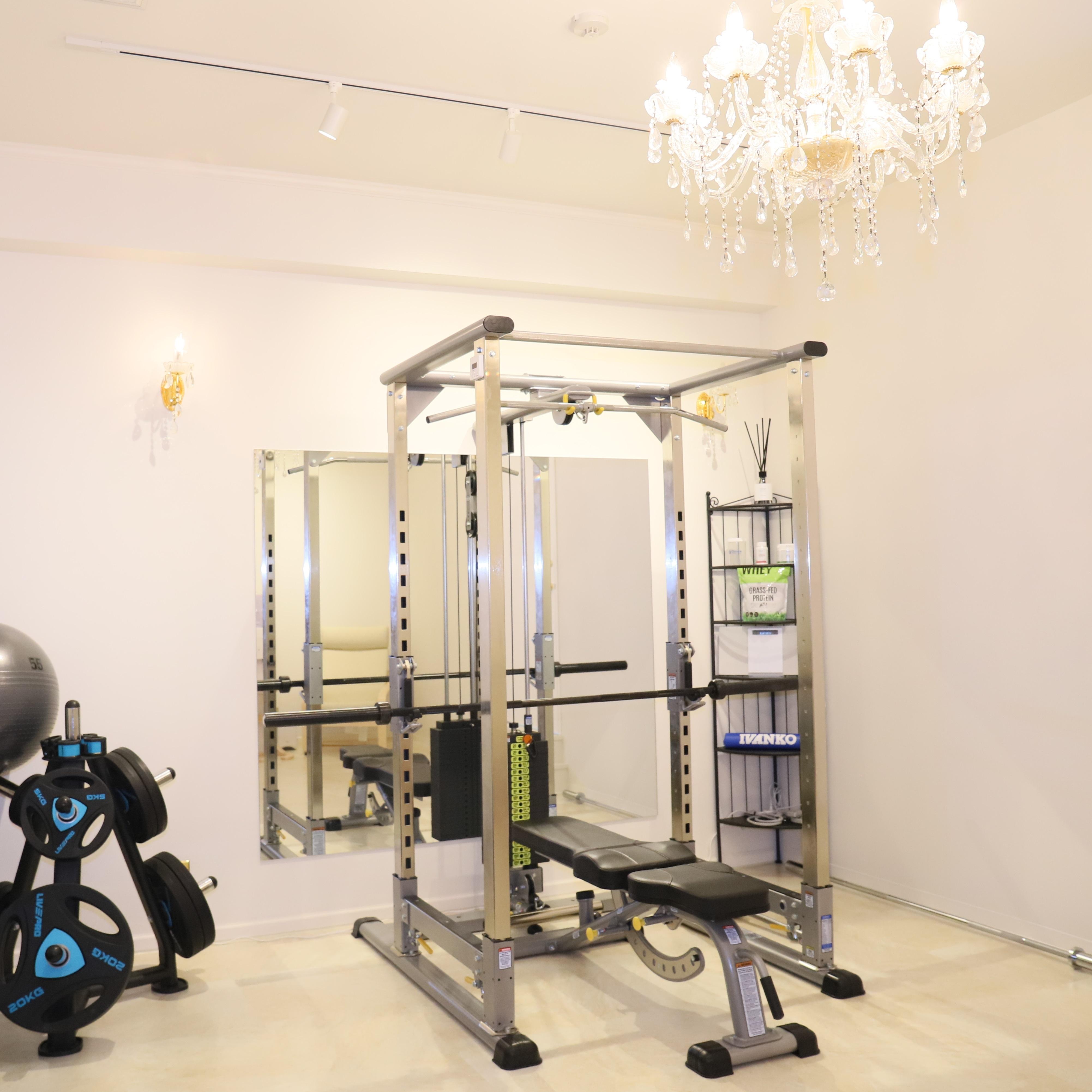 名古屋・栄のパーソナルトレーニングジム「CRANE」の減量コースを体験~トレーニング編~
