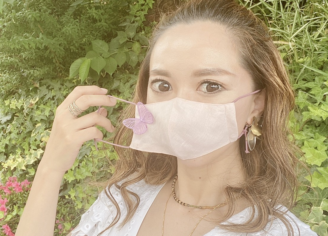 高井ちはるさんに聞く、夏のコーデpart2【マスク編】